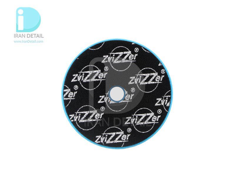 پد پولیش بسیار زبر اوربیتال آبی زیزر 150 ميلی متری مدل Zvizzer Trapez Pads Blue Heavy Cutting Pad TR00016525PC