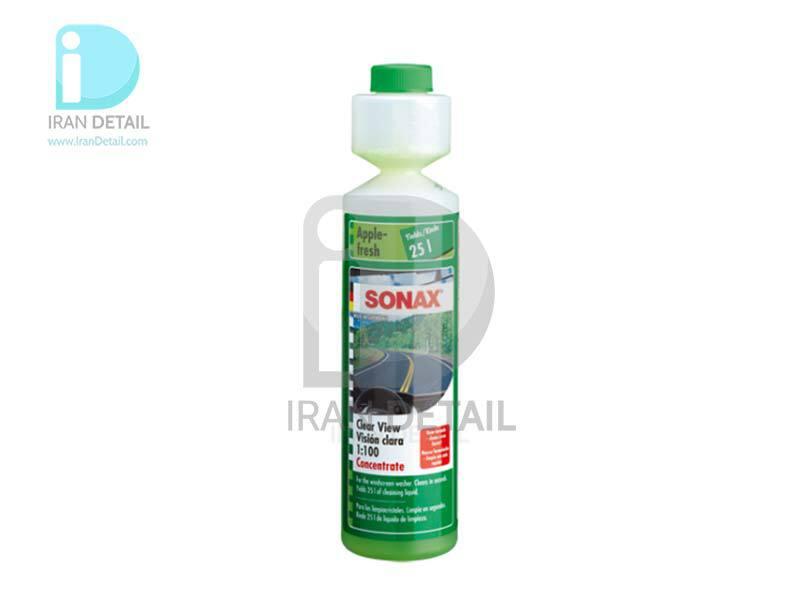 شیشه شور با بوی سیب تازه 1:100 سوناکس SONAX ScreenWash Concentrate - Apple Power 250ml 1:100
