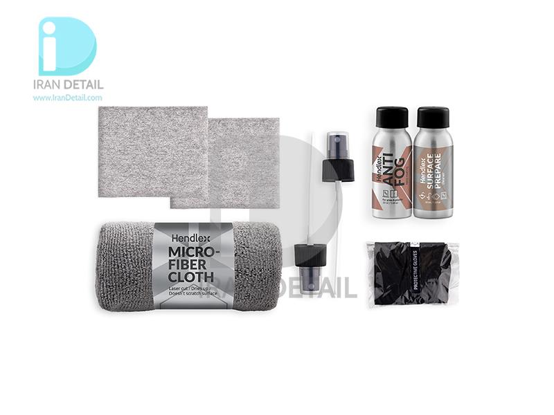 کیت پوشش محافظ و ضد بخار مخصوص سطوح شیشه ای و پلاستیکی هندلکس مدل Hendlex Antifog Protection Set