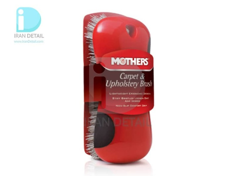 برس موکت خودرو مادرز 155900 Mothers Carpet & Upholstery Brush