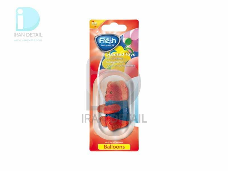 خوشبوکننده عروسکی فرش وی مدل Fresh Way Toys BALLOONS