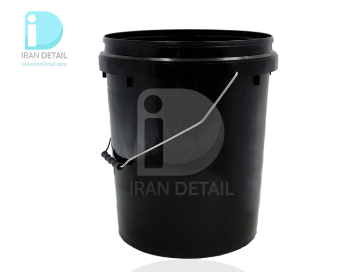 سطل شستشو خودرو 20 لیتری مشکی مدل Bucket Wash 20L Black