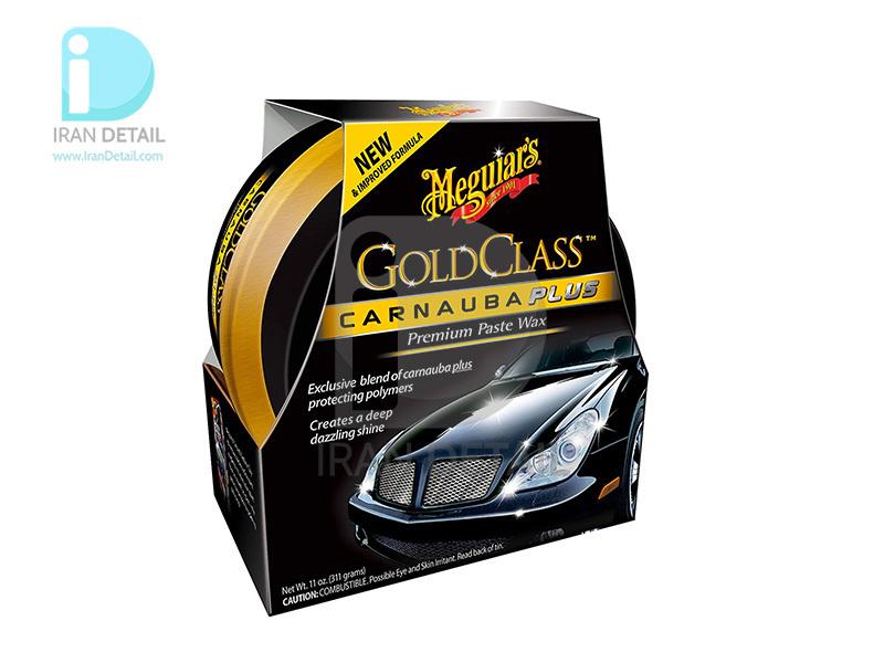 واکس خمیری کارناوبا گلد کلس مگوایرز مدل Meguiars Gold Class Carnauba Plus Paste Wax G7014AM
