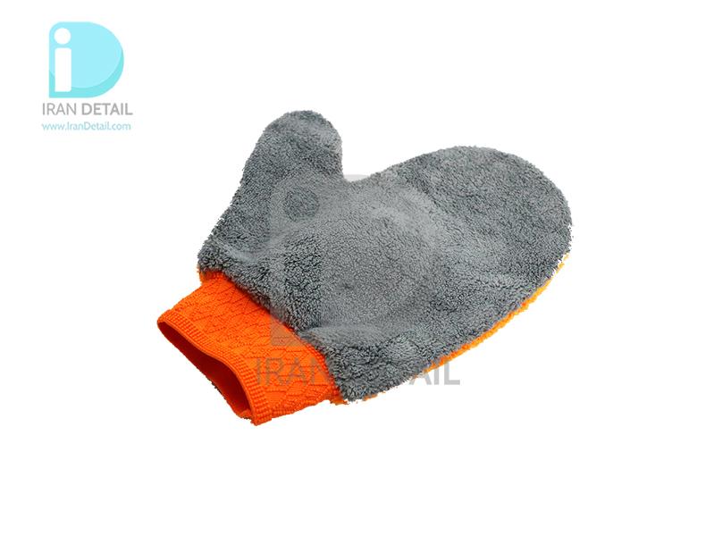 دستکش شستشو مایکروفایبر اس آر بی مدل SRB Ultrafine Microfiber Washing gloves