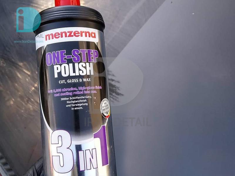 پولیش تک مرحله ای یک لیتری منزرنا مدل Menzerna One Step Polish 3IN1