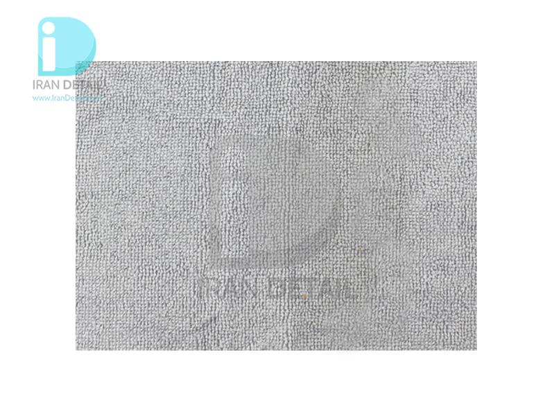 دستمال مايكروفايبر طوسی اس آر بی مدل 30*30 SRB Microfiber Cloth