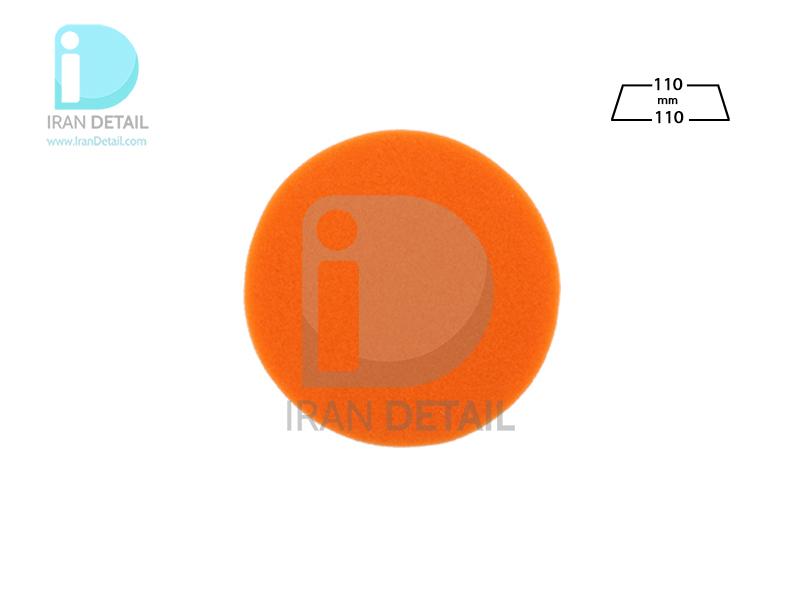 پد پولیش دستی متوسط نارنجی زیزر 110 ميلی متری مدل Zvizzer Puk Pad Orange PU0011010O