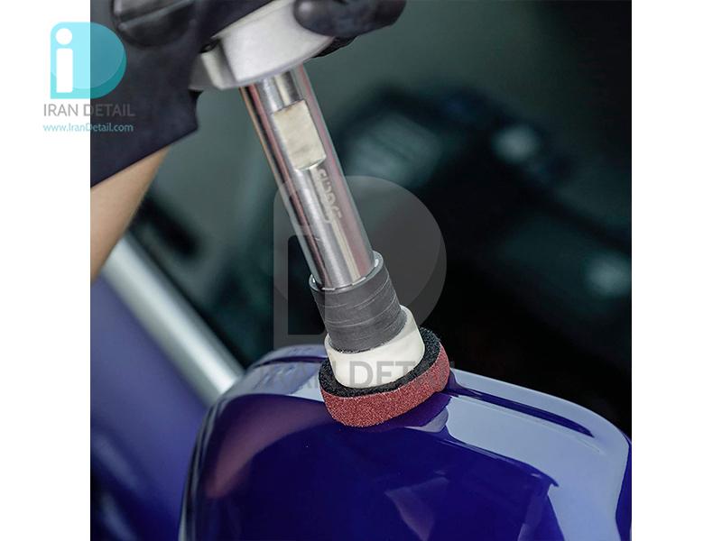 کیت پنج عددی پد پولیش متوسط زرشکی 40 میلی متری اس جی سی بی مدل SGCB Mini Foam Pad Set 1.6inches SGGA129 Wine