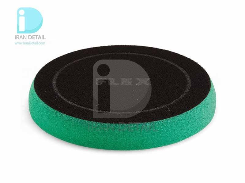 پد پولیش زبر X-CUT سبز سایز 160میلی متری فلکس Flex Polishing Sponge Green Hard Foam 160mm