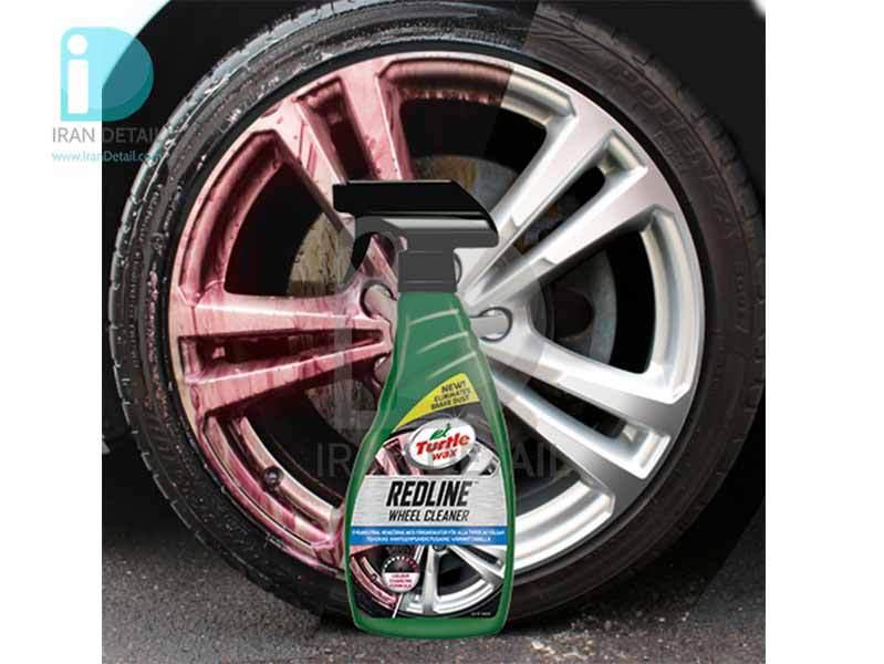 اسپری تمیز کننده رینگ ترتل واکس مدل Turtle Wax RedLine Wheel Cleaner