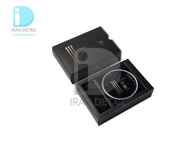 واکس خمیری و آبگریز کننده کریستال مشکی اس آر بی مدل SRB Crystal Black Wax W60