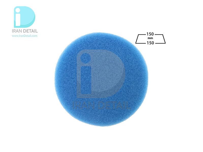 پد پولیش خیلی زبر روتاری آبی 150 میلی متری اس آر اس مدل SRS Rotary Coarse Polishing Pad Blue