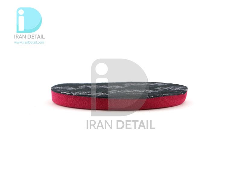 پد پولیش دستی زبر قرمز زیزر 110 ميلی متری مدل Zvizzer Puk Pad Red PU0011010R