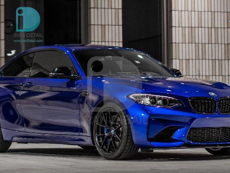کاور محافظتی پی وی سی مخصوص خودرو رول 25 متری هکزیس مدل Hexis SkinTac HX30BNEB Neon Blue