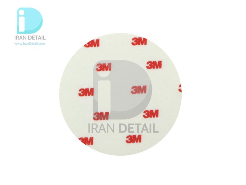پد نمدی مخصوص پولیش شیشه خودرو سایز 125 تری ام مدل 50017 3M Glass Polishing Pad 125mm