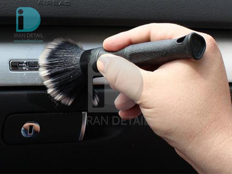 برس حرفه ای دیتیلینگ خودرو سایز متوسط فرچه صفرشویی مدل Detailing Brush Medium