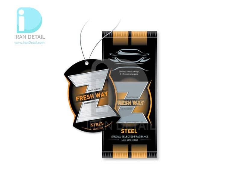 خوشبوکننده کارتی فرش وی مدل STEEL Z