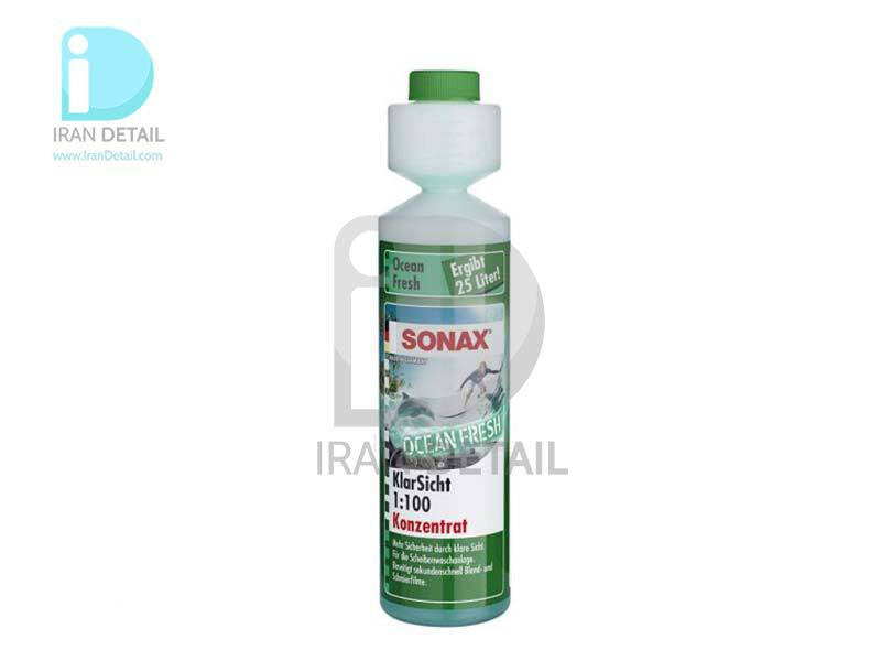 شیشه شور با بوی اوشن فرش 1:100 سوناکس SONAX ScreenWash Concentrate - Ocean Power 250ml 1:100