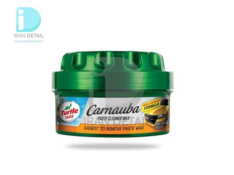 واکس خمیری تمیزکننده و براق کننده ترتل واکس مدلTurtle Wax Carnauba Cleaner Wax - Paste