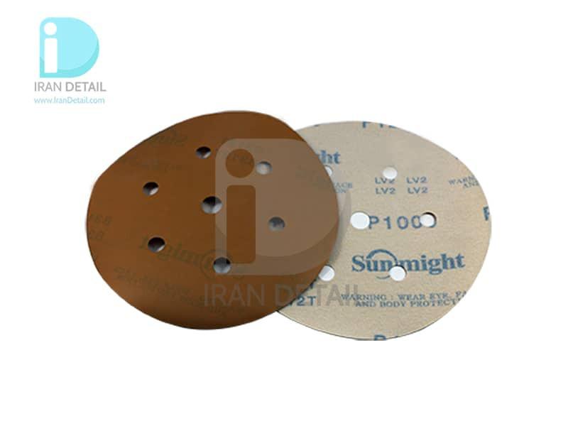 ورق سنباده دیسکی (دایره ای) سان مایت مدل Sunmight Abrasive Sheet P1000