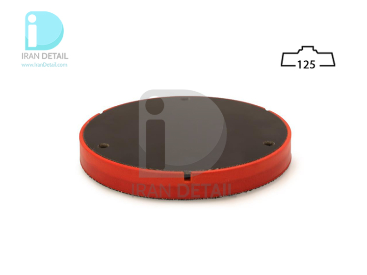 صفحه پلیت 125 میلی متری اوربیتال فلکس مدل Flex Velcro Cushioned Backing Pad D 125mm for XFE,XCE Polishers
