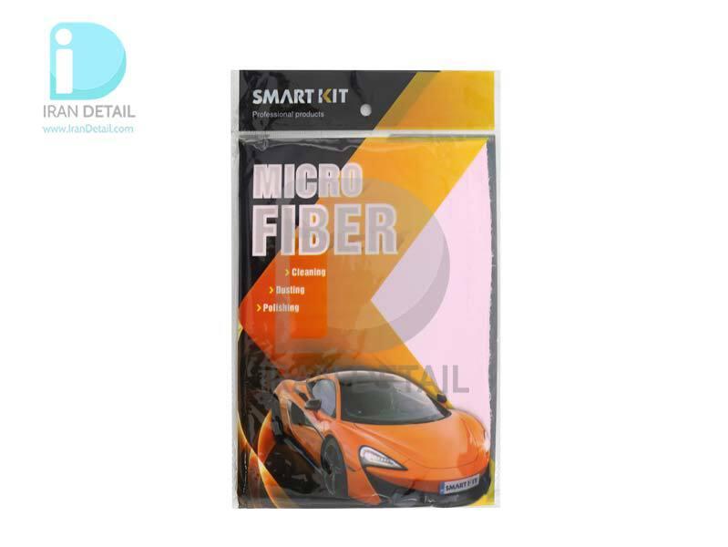 دستمال مایکروفایبر مخصوص آبگیری شیشه و بدنه خودرو اسمارت کیت Smart Kit Microfiber
