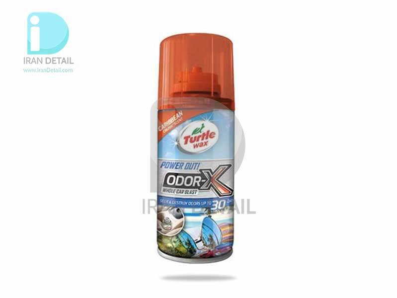 بمب تهویه با رایحه کارائیب ترتل واکس مدل Turtle Wax Power Out! Odor-X Caribbean Crush Scent