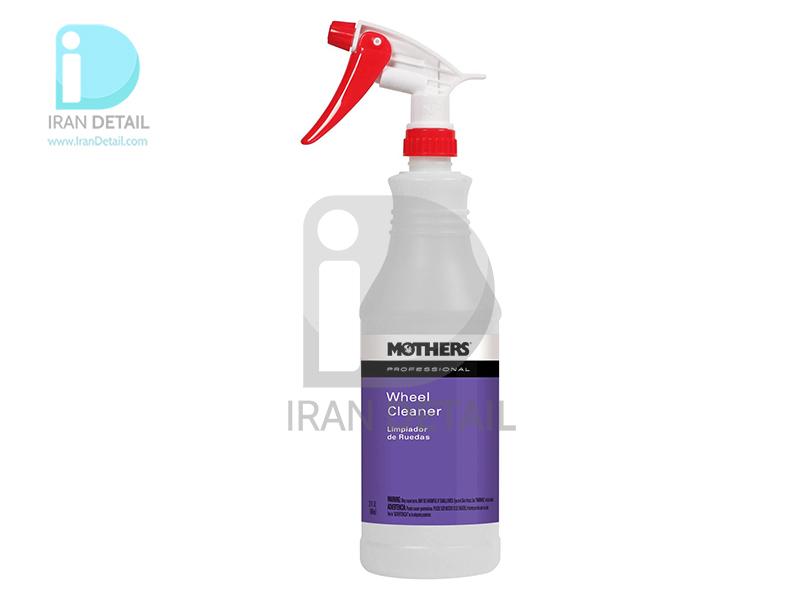 ظرف اسپری پاشش رینگ شوی یک لیتری مادرز مدل Mothers Professional Wheel Cleaner Spray Bottle 87932