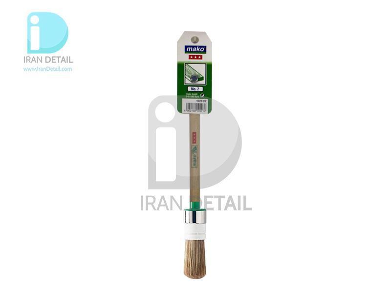 قلم دیتیلینگ ماكو آلمان شماره 2 Mako Detailing Brush