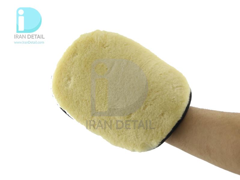 کیت دو عددی دستکش شستشو پوست بره اس آر بی مدل SRB Thickened Wool Gloves 2pcs