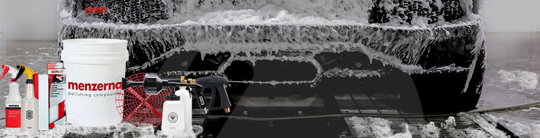 فوم گان، سطل شستشو، ماشین