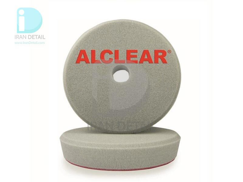 پد پولیش زبر طوسی اوربیتال آل کلیر 145 میلی متر Alclear Polishing Pad Hard Gray