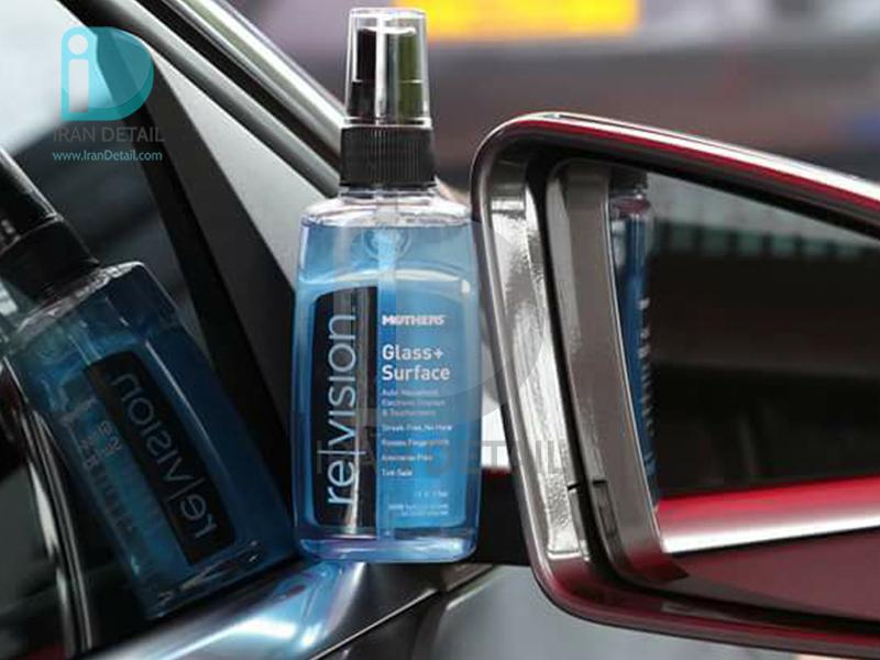 اسپري تميز و براق کننده شيشه و سطوح مادرز مدل 6605 Mothers revision Glass+Surface Cleaner