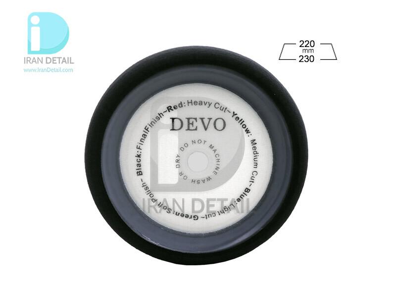 پد پولیش نرم اوربیتال لبه دار دوو مدل Devo Finishing Sponge Pad G03A-F