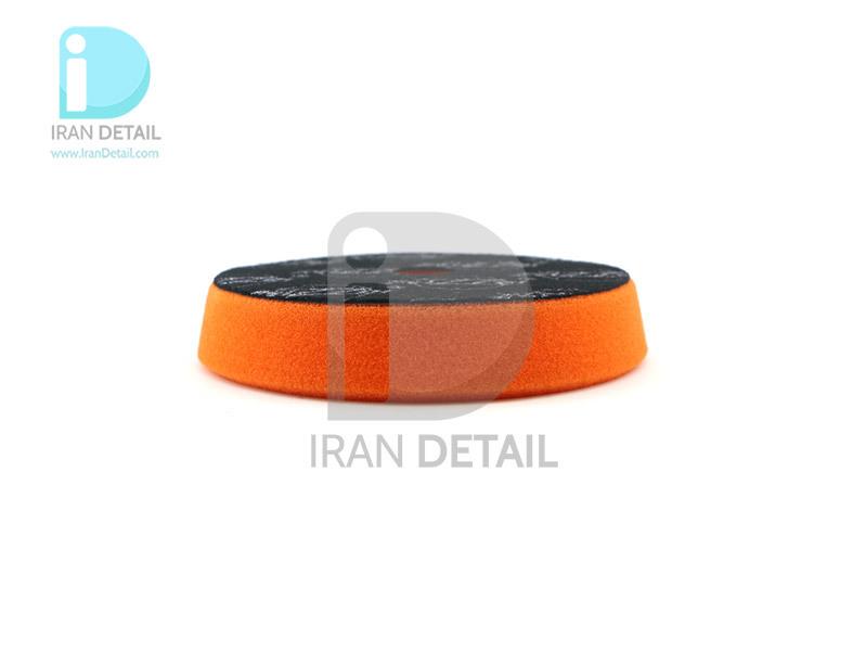 پد پولیش متوسط اوربیتال نارنجی زیزر 125 ميلی متری مدل Zvizzer Trapez Pads Orange One Step Pad TR00014525MC
