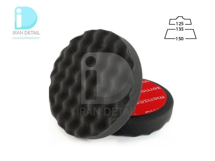 پد پولیش نرم روتاری 135 میلی متری مشکی منزرنا مدل Menzerna Polishing Pad Soft Black 135mm