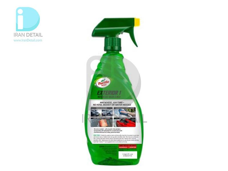 اسپری ترمیم و محافظ قطعات پلاستیکی و لاستیک خودرو ترتل واکس مدل Turtle Wax Quick & Easy Inside and Outside Protectant