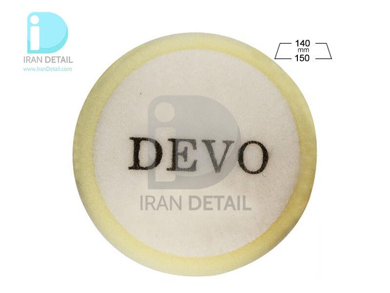 پد پولیش خیلی زبر روتاری دوو مدل Devo Cutting Sponge Pad J01A-C