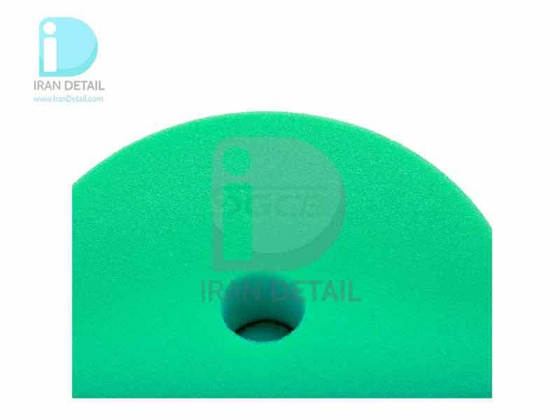 پد پولیش متوسط سبز اس جی سی بی 75 میلی متری SGCB Foam Cutting Pad Hook & Loop Green 3inches SGGA105
