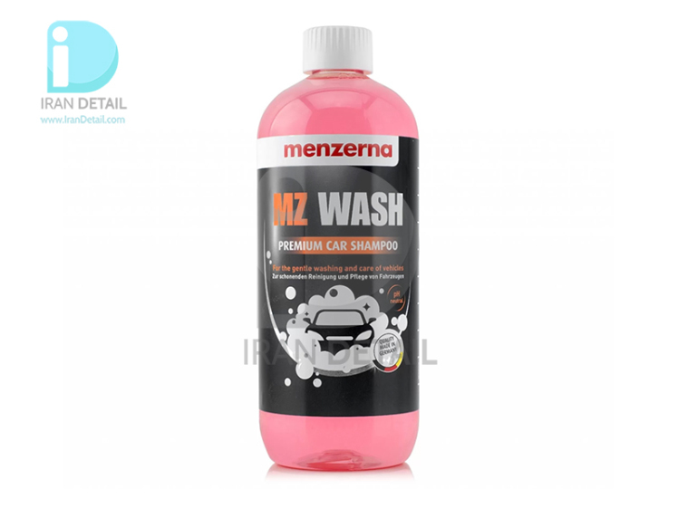 شامپو مخصوص خودرو یک لیتری منزرنا مدل Menzerna MZ Wash Premium Car Shampoo