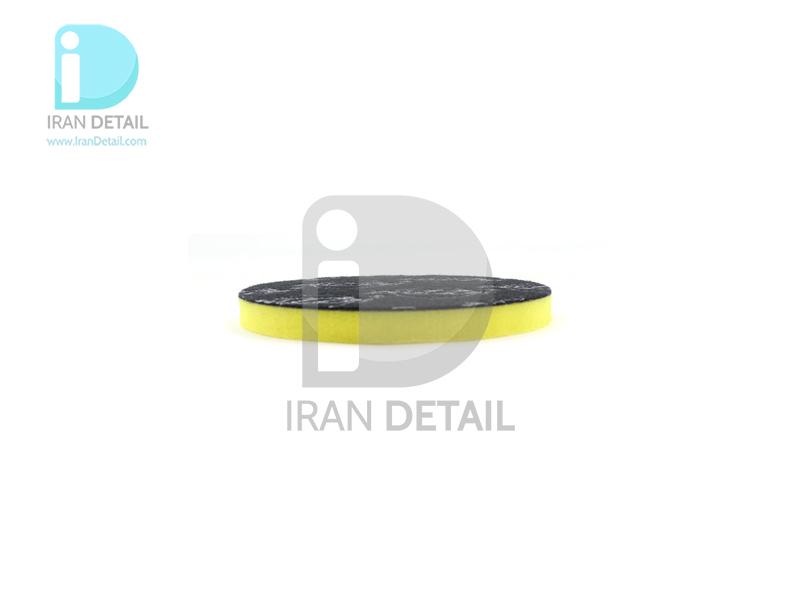 پد پولیش دستی نرم زرد زیزر 110 ميلی متری مدل Zvizzer Puk Pad Yellow PU0011010Y