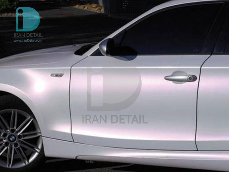 کاور محافظتی پی وی سی مخصوص خودرو رول 25 متری هکزیس مدل Hexis SkinTac HX30BPEB Pearl White Gloss