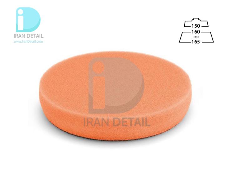 پد پولیش متوسط نارنجی سایز 160 میلی متری فلکس Flex Polishing Sponge Orange Medium-Hard Foam 160mm