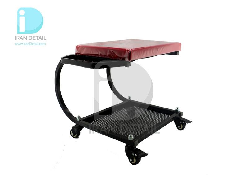 صندلی چرخدار تعمیرگاهی مدل Menzerna قرمز