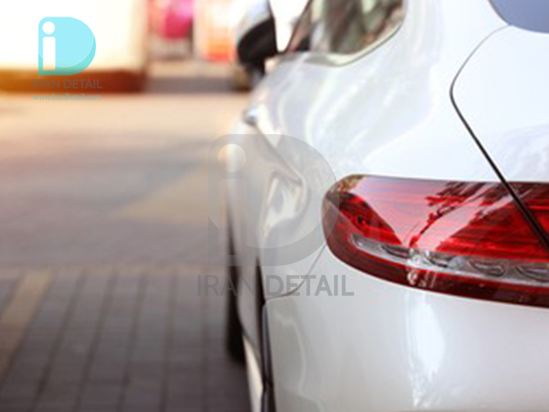 کاور محافظتی پی وی سی مخصوص خودرو رول 25 متری هکزیس مدل Hexis SkinTac HX30RW002B White Rainbow Metallic Gloss