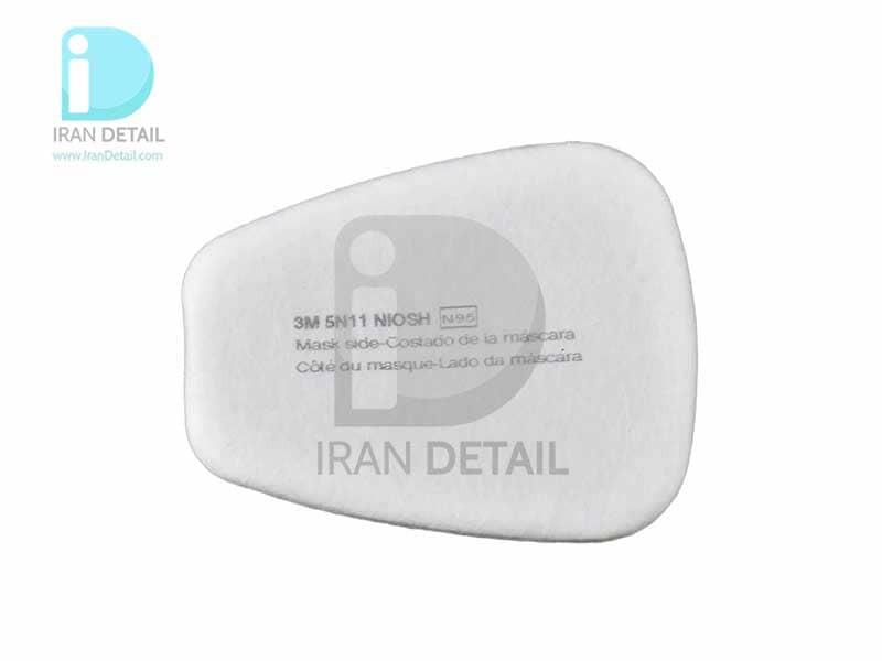 فیلتر پدی ماسک تری ام مدل 3M Particulate Filter 5N11, N95 100