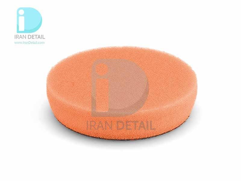 پد پولیش متوسط نارنجی سایز 80 میلی متری فلکس 2تایی Flex Polishing Sponge Orange Medium-Hard Foam 80mm