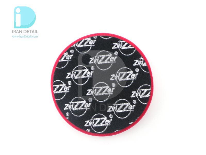 پد پولیش زبر روتاری قرمز زیزر 150 ميلی متری مدل Zvizzer Rotary Coarse Pad Red ED00016025HC