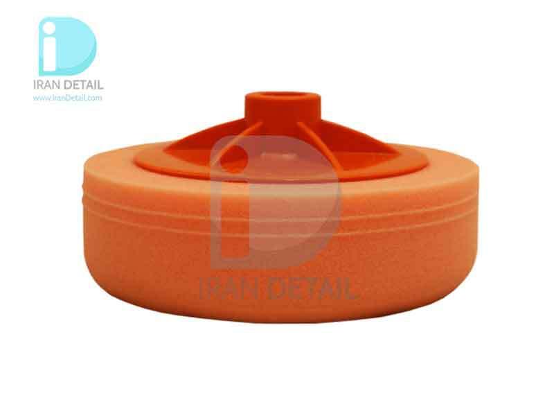 پد زبر روتاری نارنجی به همراه صفحه پلیت سیل فیکس میلی متری SilFix ََApplicator Coarse Pad