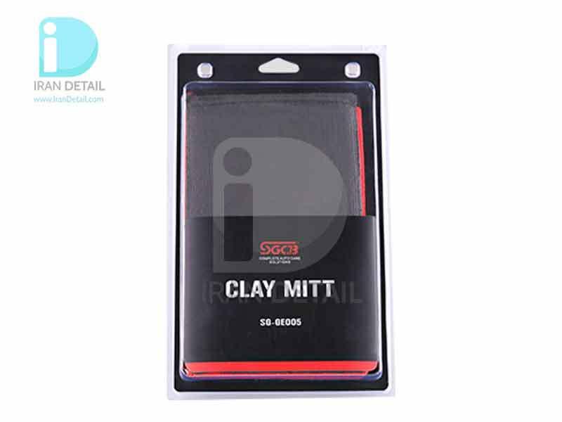دستکش خمیر کلی قرمز اس جی سی بی SGCB Clay Red Glove SGGE005